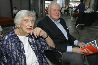 Margaret Whitlam  (1919-2012) with her husband former Prime Minister Gough Whitlam