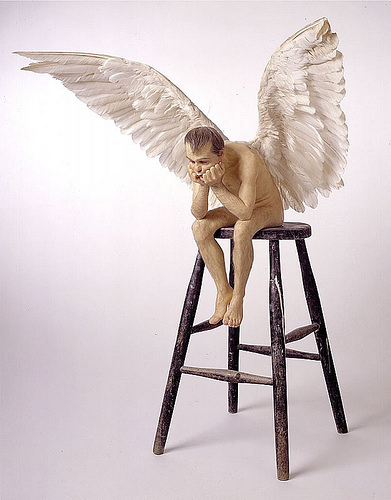 "Ron Mueck, ""Angel"", 1997"