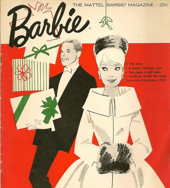Christmas barbie
