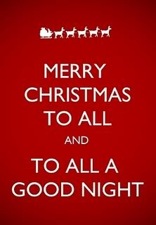 Christmas goodnight