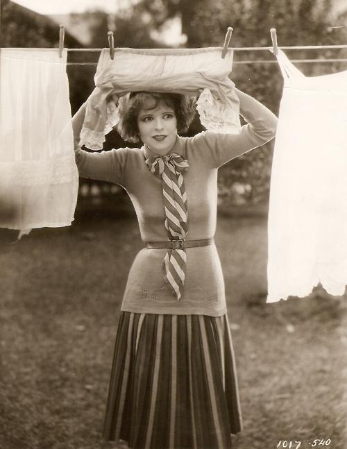 laundry Clara Bow 1927
