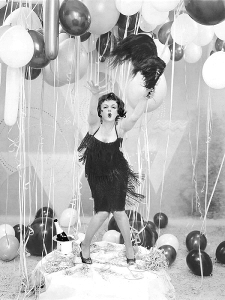 New Year Marilyn Monroe as Clara Bow