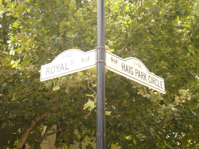 Royal Street - perhaps the street for me?
