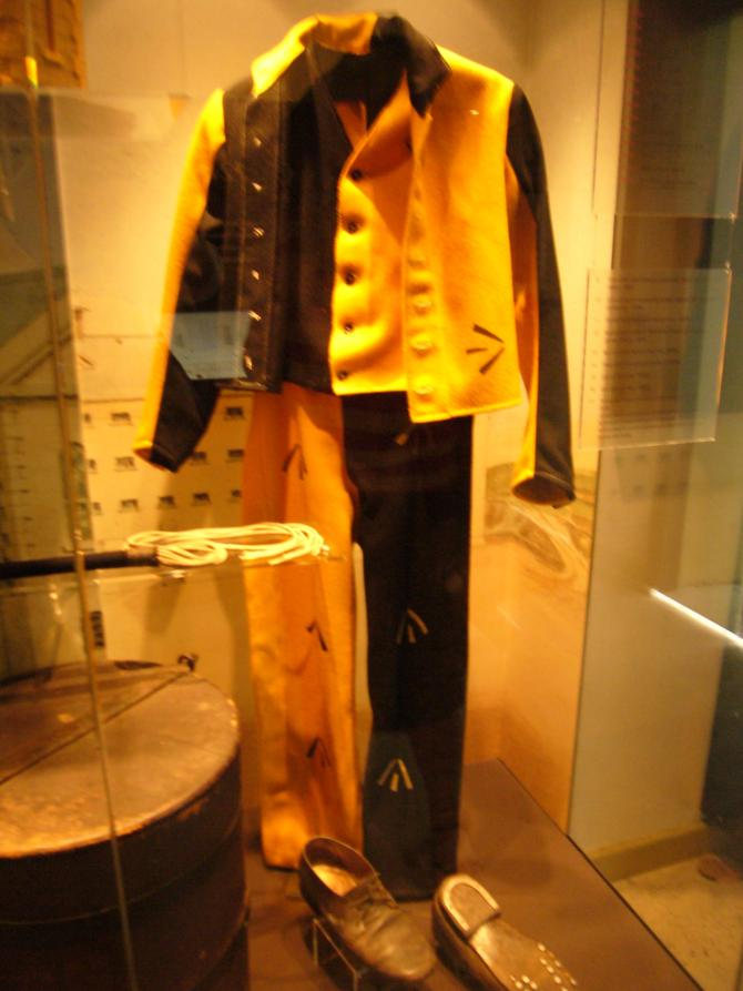 Prison uniforms through time - the prison started as a convict prison in 1850
