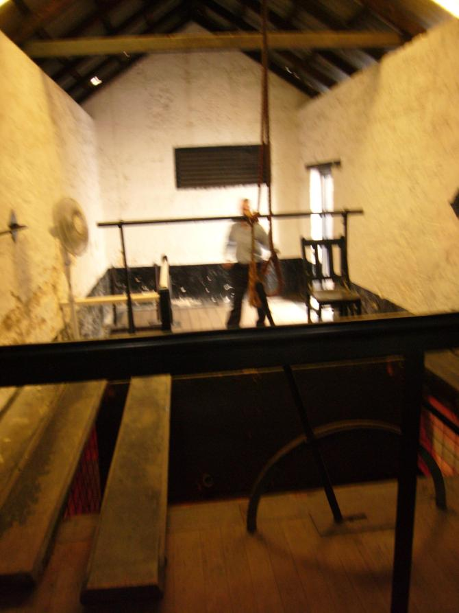 The gallows. 34 people were hung here, including one woman. WA had capital punishment as a law until 1984.