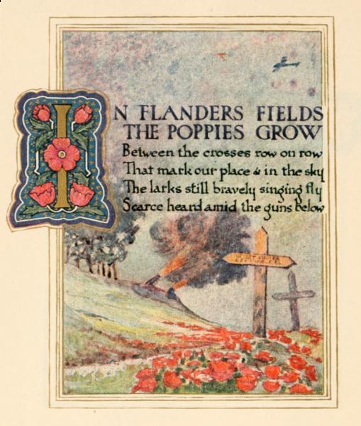 ANZAC flanders field