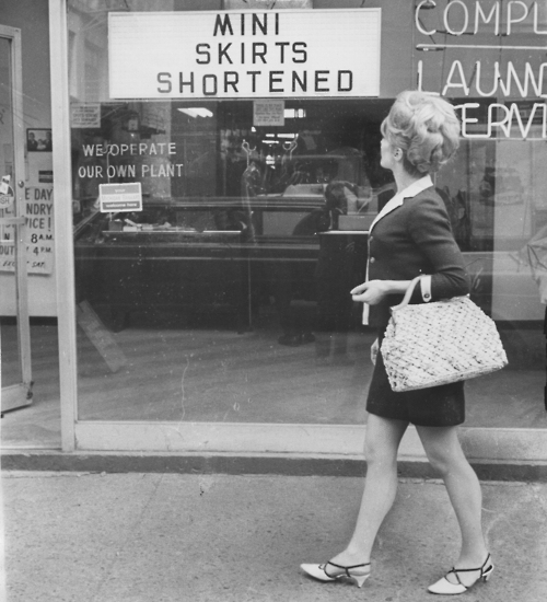 clothing mini skirts jun 3 1967
