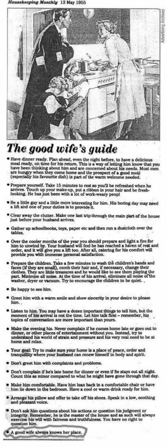 wife's guide