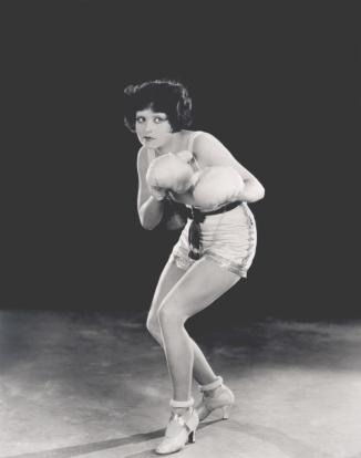 boxer Clara Bow