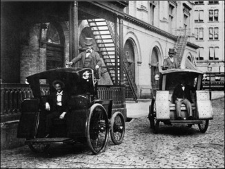 curious Electric Cabs In New York City – 1896