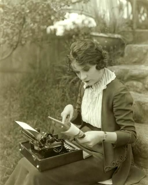 writing Viola Dana