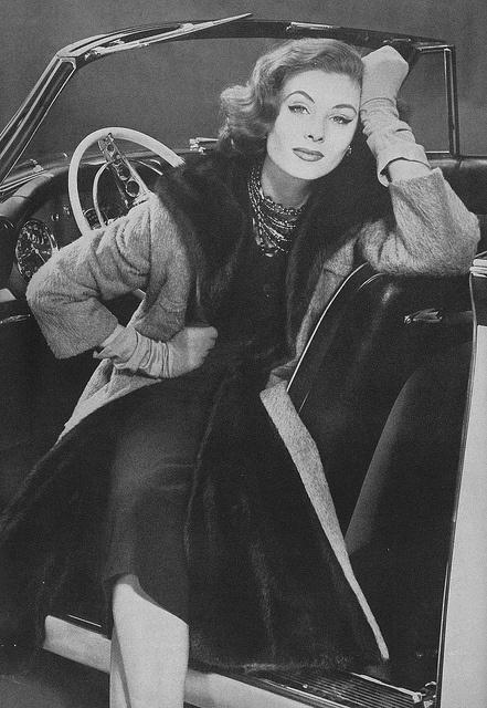 Car woman