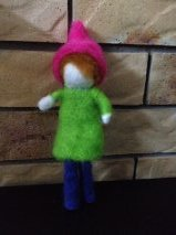 Felted Forest Gnome 1