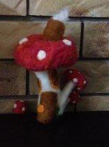 Felted Mushroom HOUSE JAN 2014