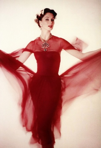 Suzy Parker in Chanel, 1956.