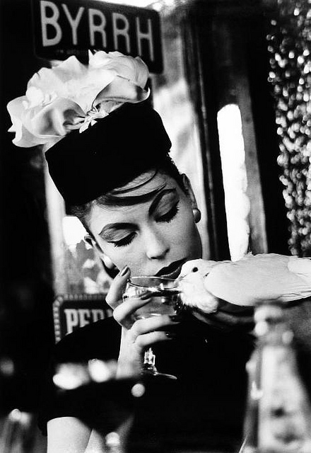 bird Mary & Dove, Paris 1957