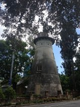 This is the Old Windmill is a heritage-listed tower located in Wickham Park, on Wickham Terrace in Spring Hill, Brisbane, Queensland, Australia.  It is across the road from where my eye was crafted!