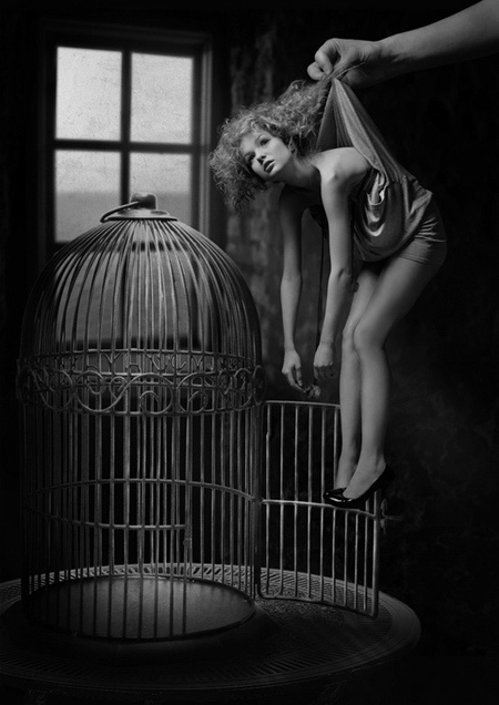 caged woman