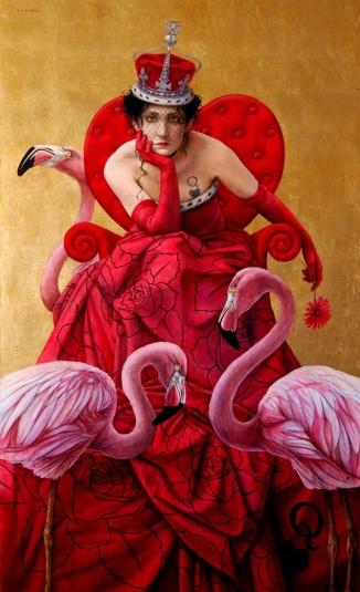 """La Reina de Corazones"" (Queen of Hearts) - Jose Louis Muñoz"