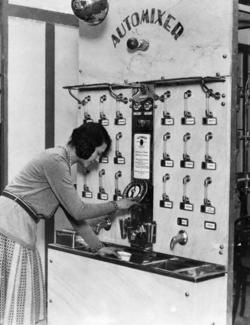 19430s cocktail mixing machine