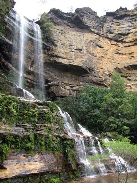 Waterfalls in the Blue Mountains