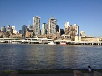 Brisbane CBD skyline