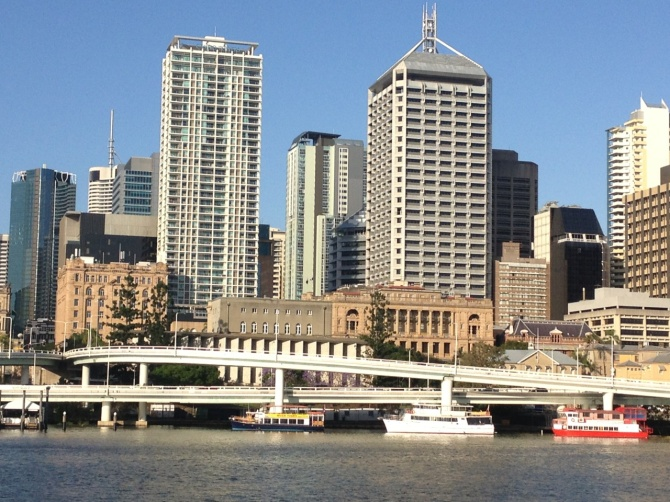 Brisbane CBD skyline 2