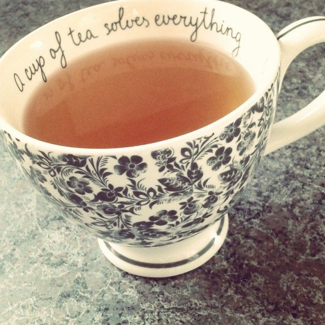 cup of tea solves