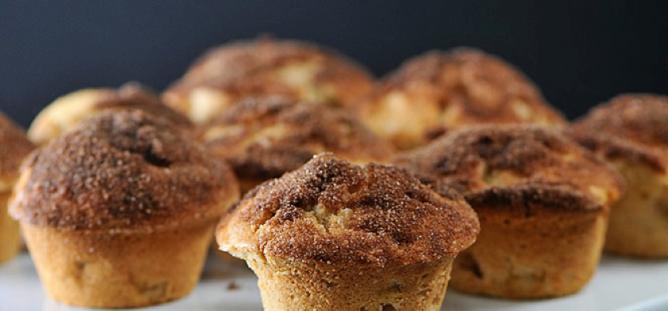muffin apple
