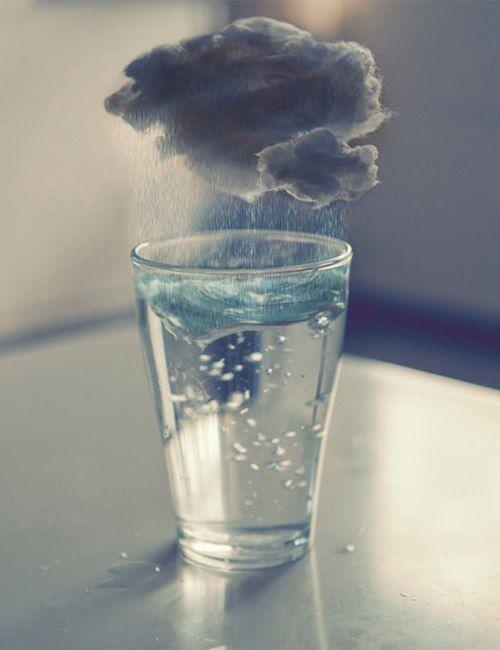 rain in a glass