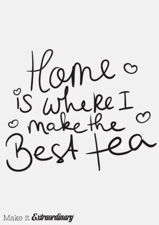 Tea, tea, glorious tea