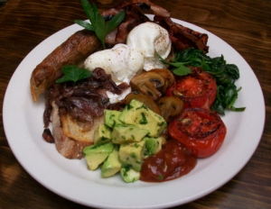 Mr FD's favourite, the Big Breakfast?