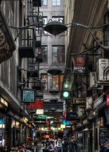 Centre Place Melbourne: it's like a cross between Hogwarts Train Station and Times Square