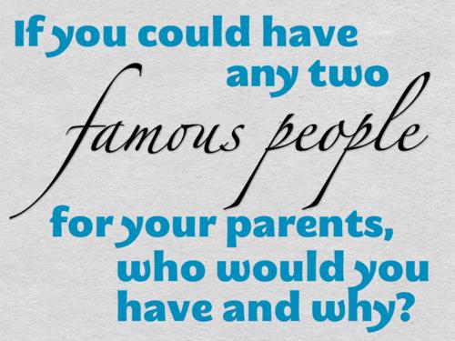 famous parents