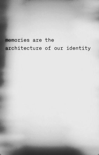 Memories are the architecture