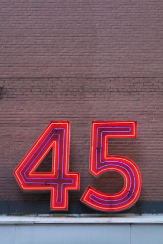 number 45