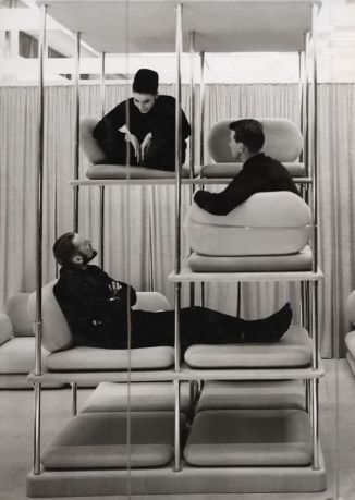 team meeting inspiration. Verner Panton . 1963-64