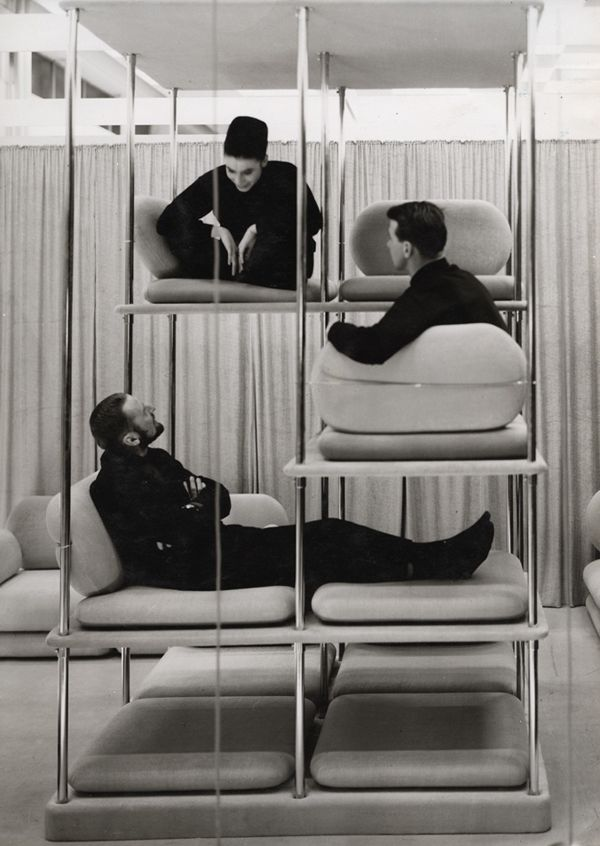 team meeting inspiration. Verner Panton . 1963-64