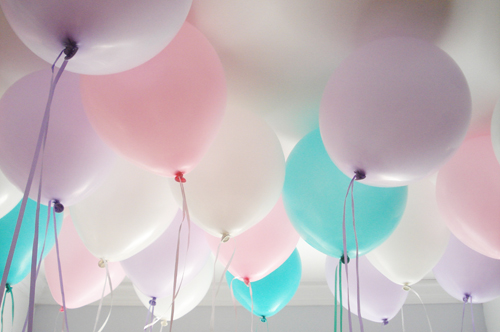 Birthday balloons 2015