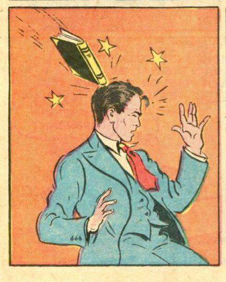 book slap