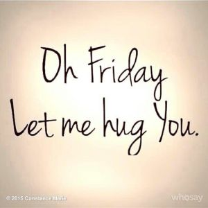 friday hug