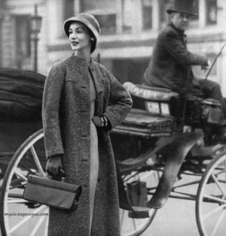 Ruth Neumann-Derujinsky, Mademoiselle September 1955 Photo by Stephen Colhoun