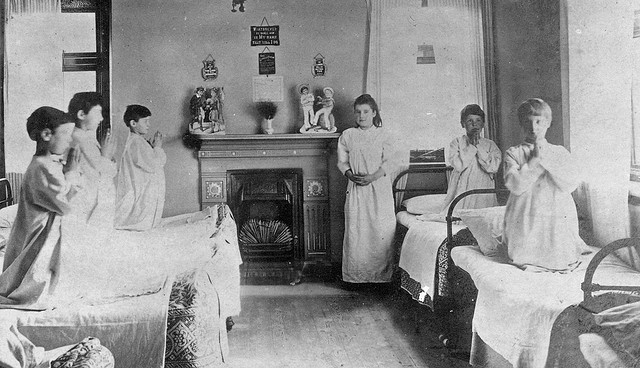 Bedtime at the Harris Orphanage at Preston