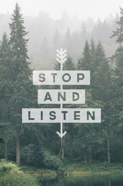 stop listen