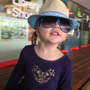 Petite Fille, the two and half year old fashionista.