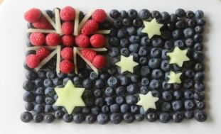 Fruit - and our flag1