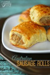 Sausage rolls - the morning tea staple