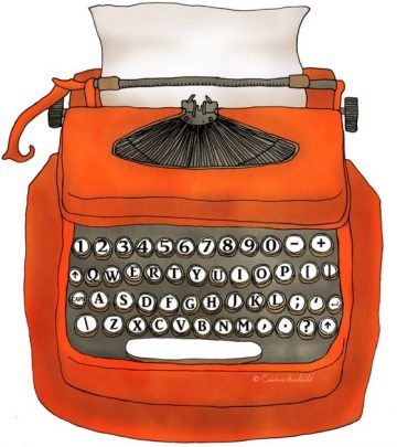 red-typewriter