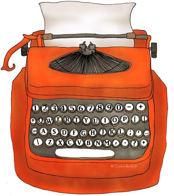 red-typewriter